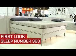 sleep number 360 smart bed youtube