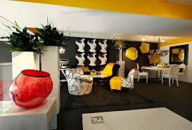 black white and yellow living room centerfieldbar com