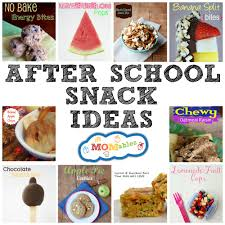 healthy after snack ideas for kids