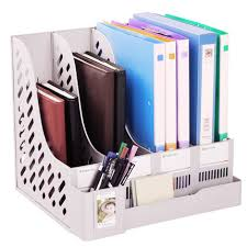 Desk Folder Organizer Office Desk File Organizer Document Holder A4 Filing Box
