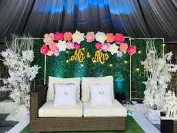 wedding backdrop design philippines maribelle s garden catering home