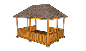 How To Frame A Patio Roof by Gazebo Roof Framing Myoutdoorplans Free Woodworking Plans And