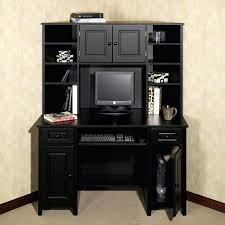 u shaped desks home office u shaped desk hutch espresso finish computer with in