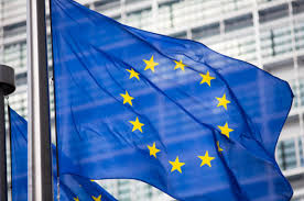 Flag Of The European Union Eu Hitches Its Cart To The Blockchain Bandwagon U2022 The Register