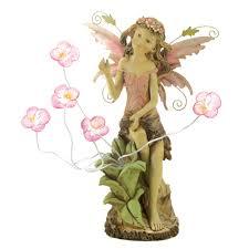 fairy garden statues wholesale peony fairy solar statue buy wholesale garden statues