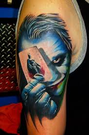 best tattoo area joker tattoo