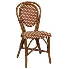 Navy Bistro Chairs Furniture Rattan Bistro Chairs At American Country Parisian Bar