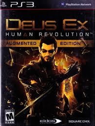 deus ex human revolution augmented edition 2011 playstation 3