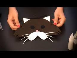 como hacer mascaras en forma de rosa cómo hacer un antifaz de gato antifaces de animales para niños