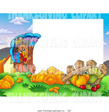 thanksgiving clip art border thanksgiving harvest clipart 51