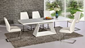 modern dining tables furniture expandable dining table square or round modern by