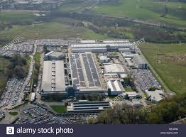 land rover headquarters aerial view of the jaguar land rover car manufacturing plant at