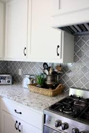 backsplash for white kitchen gray and white kitchen farmhouse kitchen arabesque tile