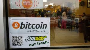 subway accepting bitcoins bitcoin