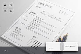 The Best Resume by 20 Free And Premium Best Resume Templates Word Psd Indd