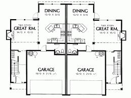smart placement two storey duplex house plans ideas fresh at