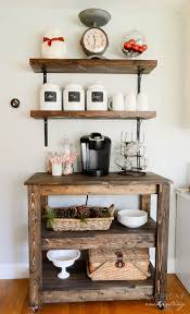 Wall Bar Table 11 Genius Ways To Diy A Coffee Bar At Home U2014 Eatwell101