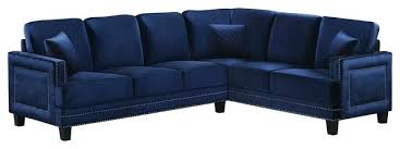 Navy Blue Leather Sectional Sofa Wojcicki Me Page 109