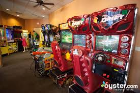 game room at the floridays resort orlando oyster com