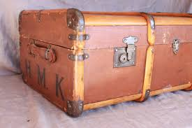 new old steamer trunk the cavender diary