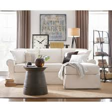 Home Decorators Home Decorators Collection Mayfair 2 Piece Linen Pearl Sectional
