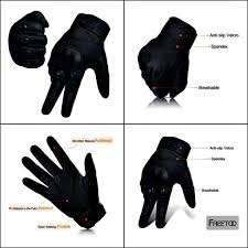best sport bike boots the freetoo hard knuckle full finger tactical gloves are