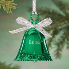 personalized birthstone ornaments personalized birthstone bell ornament kimball