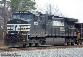 ns 9100 d9 40cw locomotive train engine 2c norfolk southern