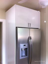gap between fridge and cabinets ikea s over the fridge cabinet southern wild