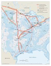 Pipeline Map Of North America by Winning The Fight Against The Enbridge Octopus The National