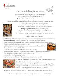 beautiful day brunch all occasions catering