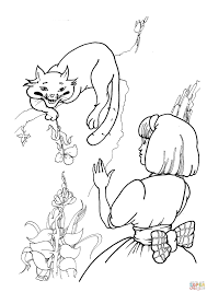 cheshire cat with alice coloring page free printable coloring pages