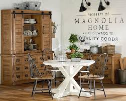 Primitive Dining Room Furniture Farmhouse Dining With Childers Table Magnolia Home