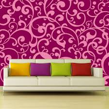 beautifully bold floral wallpaper removable wall stickers and