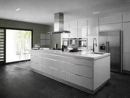cuisine moderne blanc laqué cuisine blanc laque