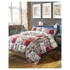 Tesco Value Duvet Cover Buy Hashtag Bedding Cyclist Duvet Cover And Pillowcase Set King