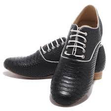 christian louboutin alfredo woman flat shoes black python