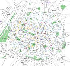 Aris Metro Map by Paris Metro Map Central Map Aboutfrancecom For Alluring Map Of