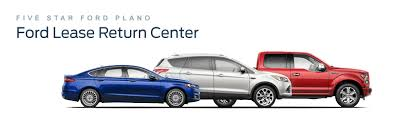 ford lease ford early lease termination five ford plano ford dealer