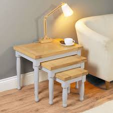 nesting tables nest of tables nesting coffee tables candle and blue