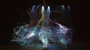 radical dress outfitted with lights