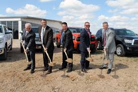 toyota dealer usa bart reagor rdag set to build new image usa ii toyota facility in