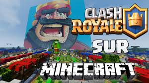 clash royale sur minecraft craft royale youtube
