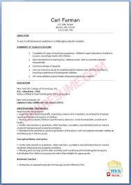 Sample Resume For Teachers Freshers by Resume Sample Kindergarten Teacher Resume