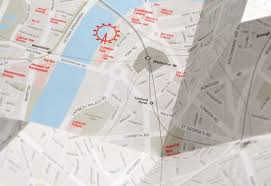 paper maps kickstart it this ingenious paper map zooms as you unfold it wired