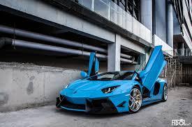 lamborghini aventador blue lamborghini aventador lp 700 4 by dmc in azure blue color front