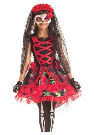 day of the dead costumes child day of the dead senorita costume