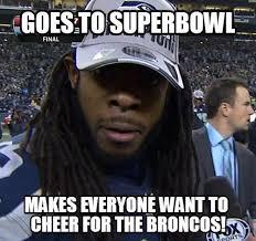 Seahawks Super Bowl Meme - tyler hurst on twitter seahawks richard sherman meme hahahah go