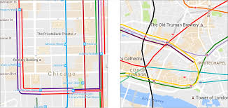 Blue Line Chicago Map by A Technical Follow Up How We Built The World U0027s Prettiest Auto