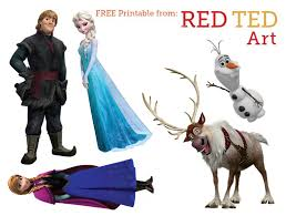 disney u0027s frozen craft puppets frozen characters free